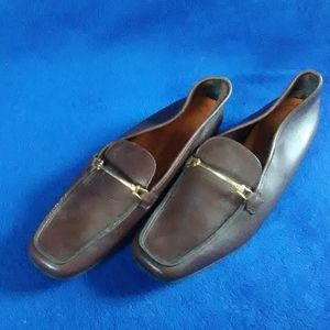 Robert Clergerie Brown Slip On Shoes 7